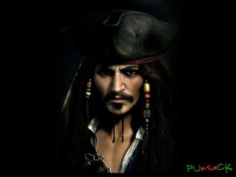Pirate....Captain Jack Sparrow by maxmk04