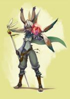 Viera Summoner by KoiDrake