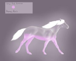 L-008 ~ Aeris (my Italian glass horse) by Kunook