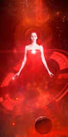 The red sorceress emerges victorious by dadrian