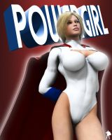 Power Girl Again by Supro3D