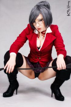 Vicepresident Meiko Shiraki - cosplay 02 by Kitty-Honey