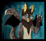 Raffle Prize: Rhune~ by ScottishRedWolf