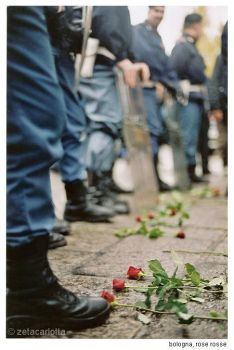 roses and policemen by zetacarlotta