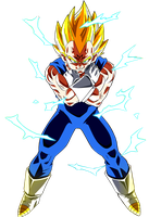 Render de majin vegeta. by KevinEditions123