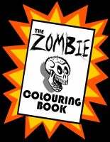 The Zombie Colouring Book by ZombPunk