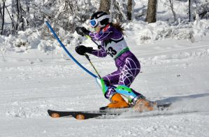 Ski Racer by TWOphotography