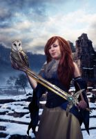 .::Shield Maiden::. by Randoms-Foundling