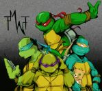 TMNT-The World Ends With You by tmask01