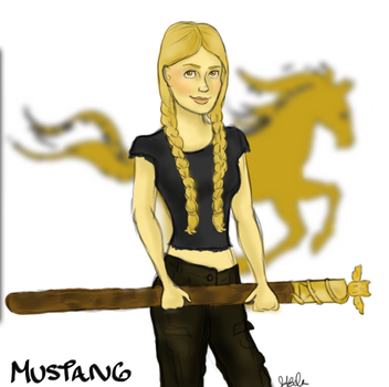 Mustang - Red Rising Pierce Brown by kt-grace