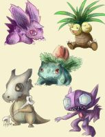 Pokemons! by FigureEight