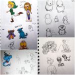 Doodle page 4! by evangeline40003