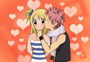 NaLu Kiss by NIIIGATA