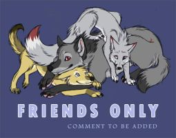 Friends Only by neon-possum
