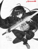 Artworx88- Shana: Wielder of Nietono No Shana by Artworx88