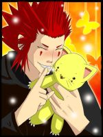 Axel loves HugZ by XiaoShuai