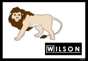 Wilson the Lion by Ryuuzaki-L-spy-19