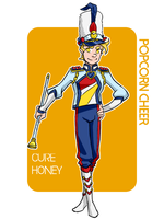 Male Cure Honey Popcorn Cheer by hielorei