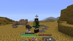 The Lone Minecrafter... by headhunter100060