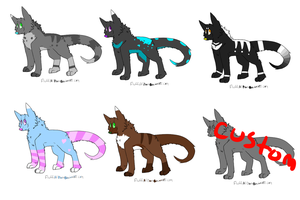 Adoptables by FluffyOfDoom