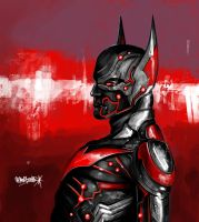 BATMAN BEYOND by LACR1MATH