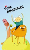 ADVENTURE TIME by pettitfraise