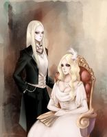 A portrait of two by AmyWinterbreeze