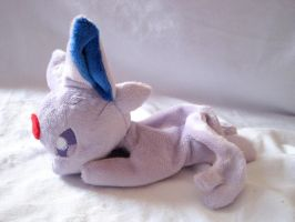 Espeon Beanie Baby by FollyLolly
