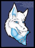 WhiteWolf ATC Head Shot 2010 by AirRaiser