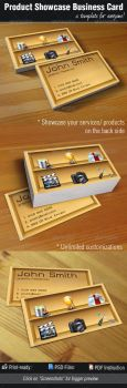 Product / Service Showcase Business Card by madebygb
