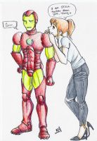 Doodlmas: Ironman for Batchix by swankkat