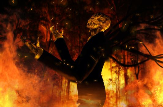 Slender - Burning Rage by cfowler7