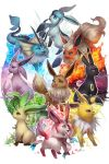 Eeveelution by Naiichie