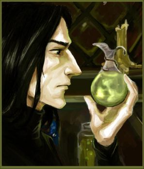 The Potion Master by Linnpuzzle