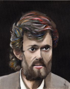 Terence McKenna Portrait by thecitrusmaster