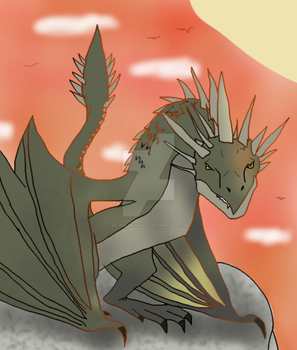 Hungarian Horntail by Silver-Pegasus
