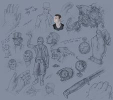 Sketches ~May - SO FAR. by Rametic