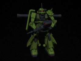 Zaku II by syntaxguy
