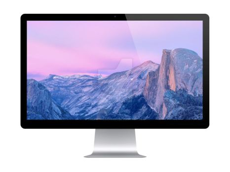 Thunderbolt Display Mockup by theanthnonyrich