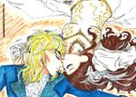 Merry X-mas KC: Goblin King and Queen by MANGAMANIAC666