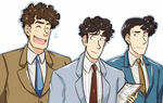 Curly Haired Dorks by Angel-soma