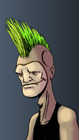 GTA2 - Loonie with a Mohawk by Relentless666