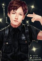 [BTS] -- Officer Jungkook by Aureta