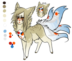 New Kitsune character by eco226