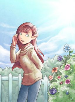 A Modern Day Elf by Snow-the-Wanderer