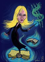 JK Rowling's Magic Touch by gilderic