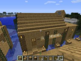 Minecraft screenshot-Swampy's cafe and bait shop 1 by falcon01