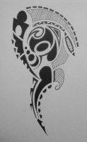 Shoulderdesign tribal by ScribblingTend