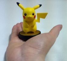 Pikachu amiibo by HispanicOrca