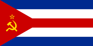 Flag of Cuban SSR by zeppelin4ever